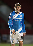 St Johnstone v Motherwell&hellip;17.12.16     McDiarmid Park    SPFL<br />Murray Davidson<br />Picture by Graeme Hart.<br />Copyright Perthshire Picture Agency<br />Tel: 01738 623350  Mobile: 07990 594431