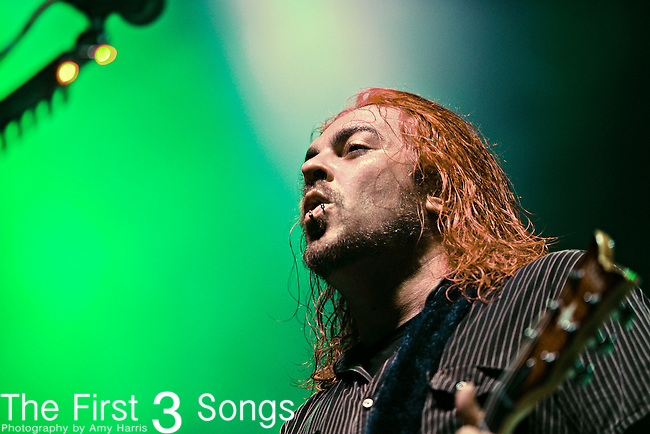 Shaun Morgan of Sether performs at X-Fest at Verizon Wireless Music Center in Indianapolis, IN on September 11, 2010.