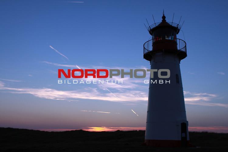 08.08.2013, Nordseeinsel Sylt, GER, im Bild Leuchtturm List West, Foto © nph / Kohring