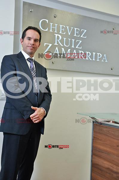 Lic.   EUGENIO FRANZONI G&Oacute;MEZ, Presidente del IMEF de Quer&eacute;taro.<br /> <br /> Credito:RicardoLugo/NortePhoto.com