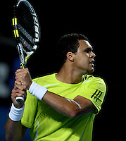 Jo-Wilfried Tsonga (FRA) (10) against Tommy Haas (GER) (18) in the Third Round of the Mens Singles. Tsonga beat Haas 6-4 3-6 6-1 7-5 ..International Tennis - Australian Open Tennis - Saturday 23 Jan 2010 - Melbourne Park - Melbourne - Australia ..© Frey - AMN Images, 1st Floor, Barry House, 20-22 Worple Road, London, SW19 4DH.Tel - +44 20 8947 0100.mfrey@advantagemedianet.com