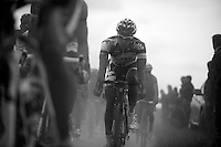 Paris-Roubaix 2012 ..Jens Debusschere in his first Hell