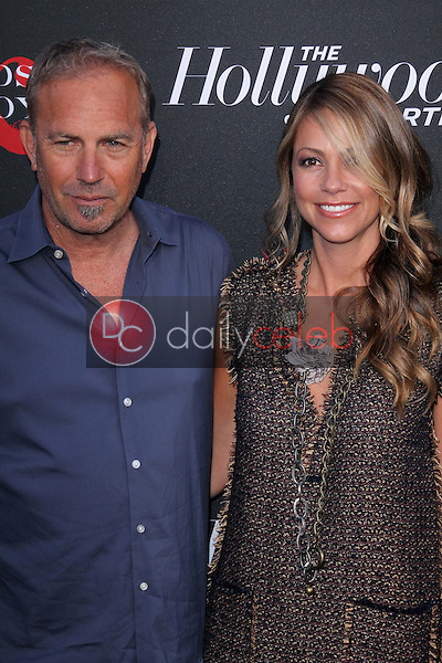 Kevin Costner and Christine Baumgartner<br /> at the &quot;Hatfields and McCoys&quot; World Premiere Event, Milk Studios, Los Angeles, CA 05-21-12<br /> David Edwards/DailyCeleb.com 818-249-4998