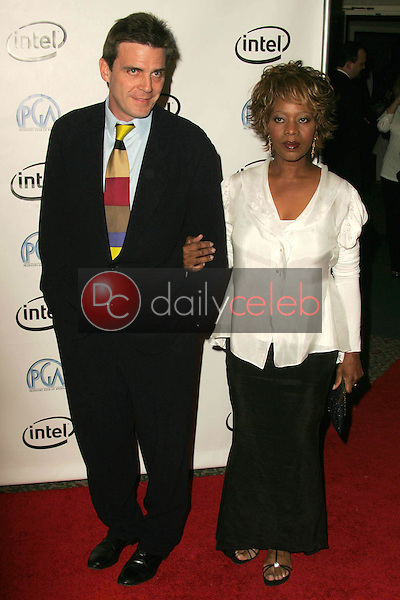 Alfre Woodard and husband Roderick<br />
