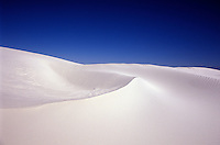 White Sands National Monument, (275 sq. mile gypsum dune field), New Mexico, USA