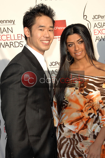 Daniel Lue and guest<br />