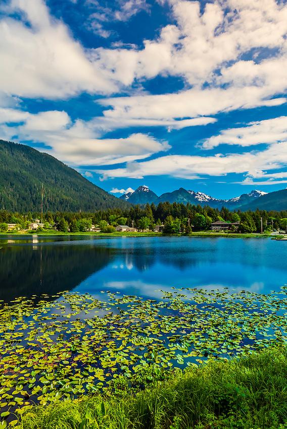 Swan Lake, Sitka, Alaska USA.