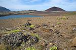 View of Kerlingarskard Mountain Pass and Volcanoes near Stykkisholmur in Iceland