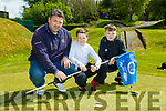 Peter Keelan and Ross O'Brien enjoying the Monastry NS pitch and putt fundraiser on Monday