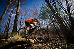 Winter Mountain Biker, Sean Wiggins