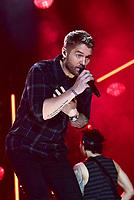 08 June 2019 - Nashville, Tennessee - Brett Young. 2019 CMA Music Fest Nightly Concert held at Nissan Stadium. Photo Credit: Dara-Michelle Farr/AdMedia