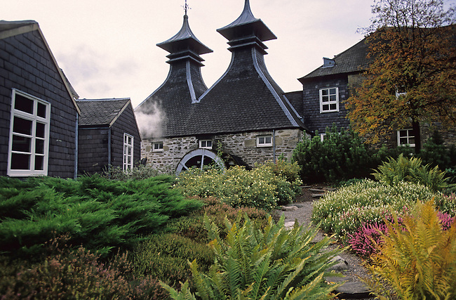 Distillerie de Strathisla a Keith. *** Strathisla distillery in Keith.