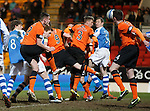 Liam Craig gets his head to the ball to score a last gasp goal for St Johnstone