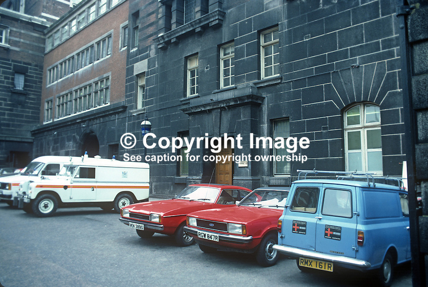 Canon Row Police Station, London, UK, 198203043CRPS..Copyright Image from Victor Patterson, 54 Dorchester Park, Belfast, UK, BT9 6RJ.  Tel: +44 28 90661296  Mobile: +44 7802 353836.Email: victorpatterson@me.com Email: victorpatterson@gmail.com..For my Terms and Conditions of Use go to http://www.victorpatterson.com/ and click on Terms & Conditions