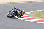 Valentino Rossi (ITA) Movistar Yamaha MotoGP, Moto GP, Free practice, Gran Premi Monster Energy de Catalunya