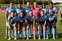 Piscataway, NJ - Wednesday June 28, 2017: Game action during a regular season National Women's Soccer League (NWSL) match between Sky Blue FC and the Orlando Pride at Yurcak Field.  Orlando defeated Sky Blue, 3-2.