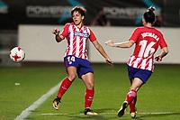 Atletico de Madrid's Marta Corredera (l) and Jucimara Thais Soares Paz during UEFA Womens Champions League 2017/2018, 1/16 Final, 1st match. October 4,2017. (ALTERPHOTOS/Acero) /NortePhoto.com /NortePhoto.com