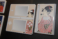 Japanese style Nintendo DS covers. The covers will go on sale around Christmas time in Japan.