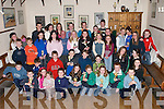 MEDALS & TROPHIES: Children from the Spa/Fenit and Barrow community who were presented with their Community Games Medals & Trophies at The Oyster Tavern, The Spa, Tralee, on Thursday night..