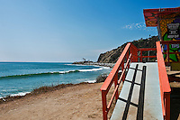 Socal Beach, Lifeguard Stations, CA, Geometric, shapes, Lifeguard Towers,  Summer of Color exhibit, The flower, beauty, core design, elements, environment, symbol of joy, universal, youth, Seaside City, South Bay, Southern California