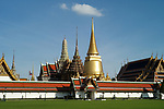The Grand Palace and Wat Phra Kaeo in Bangkok, Thailand
