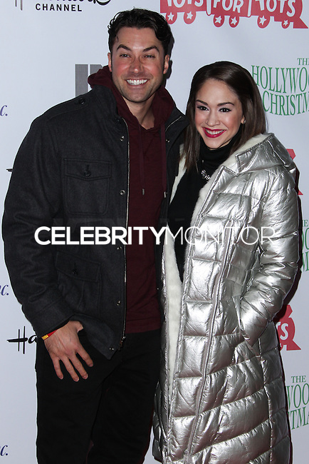 HOLLYWOOD, CA - DECEMBER 01: Ace Young, Diane DeGarmo arriving at the 82nd Annual Hollywood Christmas Parade held at Hollywood Boulevard on December 1, 2013 in Hollywood, California. (Photo by Xavier Collin/Celebrity Monitor)