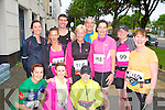 FUN RUN: Member's of the Born to Run club taking part in the Irish Heart Foundation 10km run at the Brandon hotel, Tralee on Saturday front l-r: Grainne Power, Anne Kelliher and Joanne Walsh. Back l-r: Martina Sheehan, Marian McKenna, John Liddane, Tara Enright, Denis Cahill, Sharon Cahill, Catherine Wharton and Mags O'Connor.