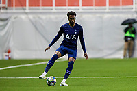 6th November 2019; Vozdovac Stadium, Belgrade, Serbia; UEFA Under 19 UEFA Youth league football, FK Crvena Zvezda under 19s versus Tottenham Hotspur under 19s; Tashan Oakley-Boothe of Tottenham Hotspurs FC breaks on the ball