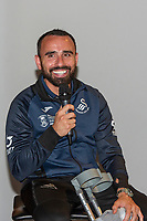 Pictured: Leon Britton of Swansea City during the Swansea City Academy presentation night at the liberty stadium, Swansea, Wales, UK. Thursday 24th October 2019