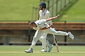 November 4th 2017, WACA Ground, Perth Australia; International cricket tour, Western Australia versus England, day 1; Nathan Coulter-Nile bowls during Englands first innings
