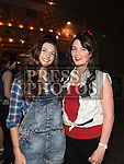 Shauna and Lauren Matthews at the Oberstown Farm barn dance. Photo:Colin Bell/pressphotos.ie