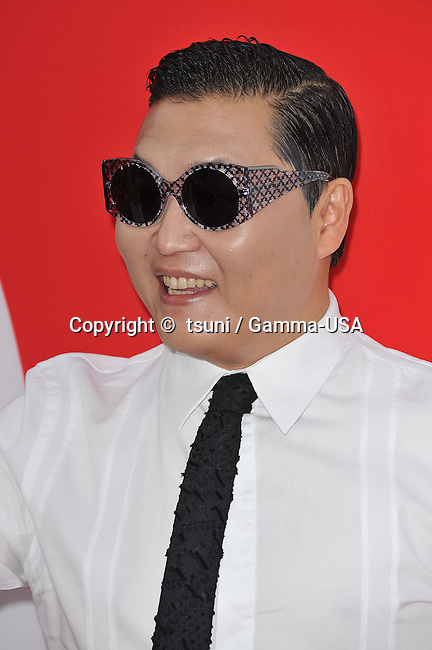 PSY  at the RED 2 Premiere at the Westwood Village Theatre In Los Angeles.