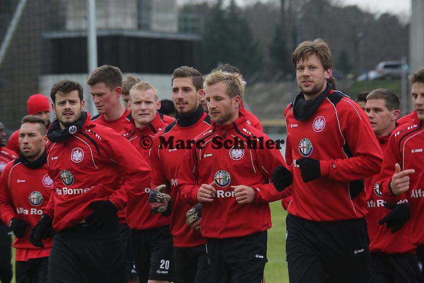 Eintracht Frankfurt läuft aus