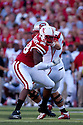 04 Sep 2010: Nebraska Cornhuskers defensive end Josh Williams (98) battles it out with Western Kentucky Hilltoppers offensive linesman Mychal Patterson (74) in the second quarter at Memorial Staduim in Lincoln, Nebraska. Nebraska defeated Western Kentucky 49 to 10.