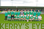 CUP WINNERS: The Castleisland team winners of the Castle Bar Cup Final at Mounthawk Park on Friday..