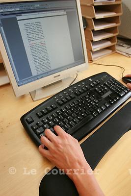 Genève, le 12.06.2007.Informatique de bureau..© J.-P. Di Silvestro..