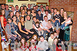 O'Connor Scartaglen celebrate their 40th wedding anniversary with their sixteen children, their sons and daughters in law and their grandchildren in their home on  .Saturday night  .   Copyright Kerry's Eye 2008