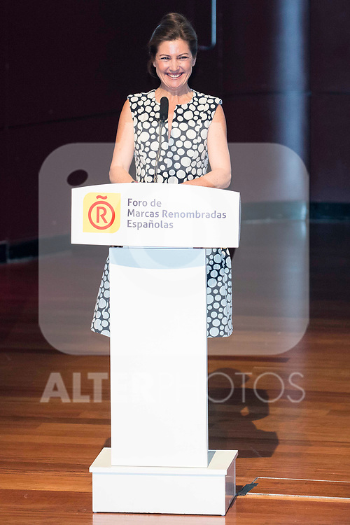 Sara Baras during the delivery of the accreditations to the new ambassadors of the Marca España 2017 at Reina Sofia Museum in Madrid. March 14, 2017. (ALTERPHOTOS/Borja B.Hojas)