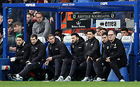Leeds United's manager Marcelo Bielsa (right) looks on<br /> Photographer Andrew Kearns/CameraSport<br /> <br /> The Emirates FA Cup Third Round - Queens Park Rangers v Leeds United - Sunday 6th January 2019 - Loftus Road - London<br />  <br /> World Copyright &copy; 2019 CameraSport. All rights reserved. 43 Linden Ave. Countesthorpe. Leicester. England. LE8 5PG - Tel: +44 (0) 116 277 4147 - admin@camerasport.com - www.camerasport.com
