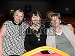 Annette Brogan, Josie Harrington and Ann Torpe at The High Kings at St. Kevins Community Centre Phillipstown. Photo:Colin Bell/pressphotos.ie