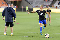 Houston, TX - Saturday July 22, 2017: Rosie White during warm ups prior to a regular season National Women's Soccer League (NWSL) match between the Houston Dash and the Boston Breakers at BBVA Compass Stadium.