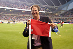 11 July 2004: Chicago Fire general manager Peter Wilt before the game. The Chicago Fire tied the New England Revolution 1-1 at Soldier Field in Chicago, IL during a regular season Major League Soccer game..