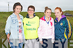 ROAD RACE: Taking part in the 10KM Banna Road Race on Sunday l-r: Una and Mary Marley, Orla O'Shea and Katie O'Riordan, all from Ardfert.