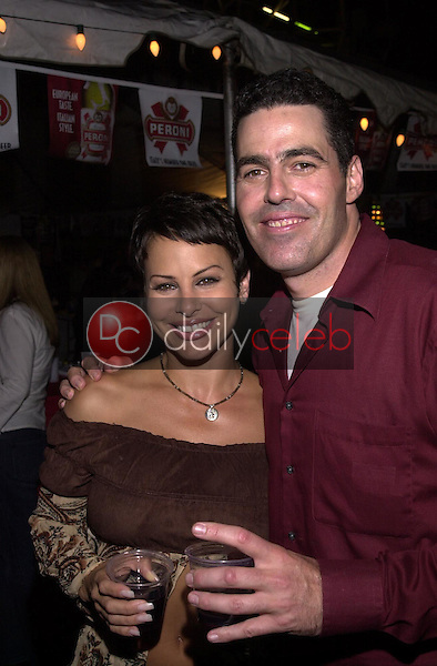 Natalie Raitano and Adam Carolla