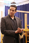 """Nick Cordero during the open press rehearsal for """"A Bronx Tale - The New Musical""""  at the New 42nd Street Studios on October 21, 2016 in New York City."""