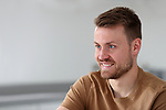 Liverpool goalkeeper Simon Mignolet at home feature, Cheshire. Picture date 17th April 2018. Picture credit should read: Paul Greenwood/Sportimage
