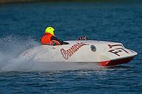 "Sam Anspach, F-77 ""Barracuda"", ( 1946 266 class Wickins hydroplane)"