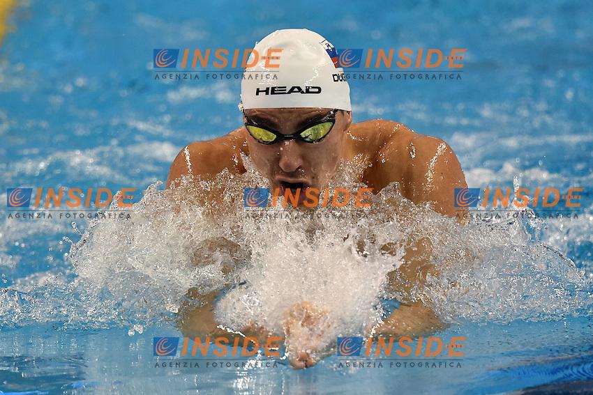 Damir DUGONJIC SLO Men's 50m Breaststroke <br /> Doha Qatar 06-12-2014 Hamad Aquatic Centre, 12th FINA World Swimming Championships (25m). Nuoto Campionati mondiali di nuoto in vasca corta.<br /> Photo Andrea Staccioli/Deepbluemedia/Insidefoto