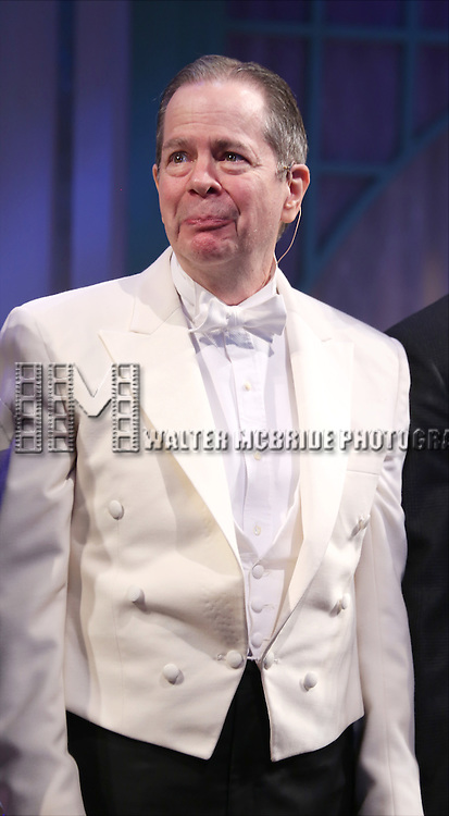 Peter Bartlett during the Broadway Opening Night Performance curtain call bows for 'She Loves Me' at Studio 54 on March 17, 2016 in New York City.