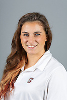 STANFORD, CA-OCTOBER 30, 2014- Jessica Webster of the Stanford Women's Water Polo Team 2014-2015.